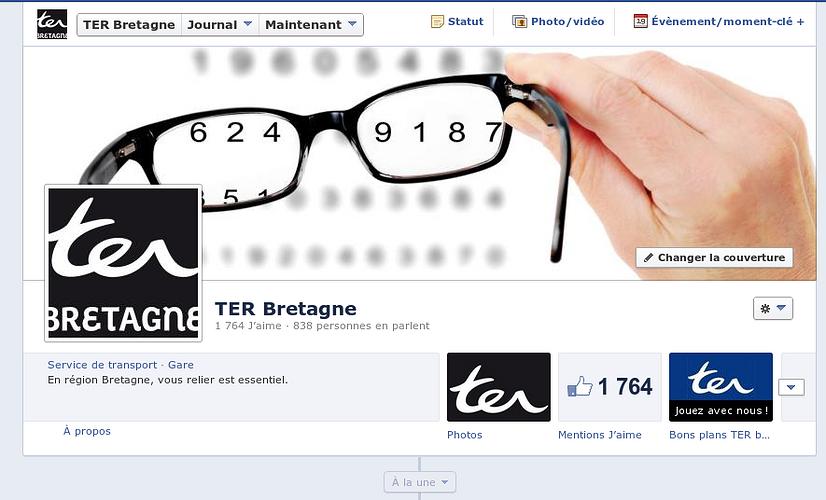 Facebook :TER Bretagne en mouvement ! 0