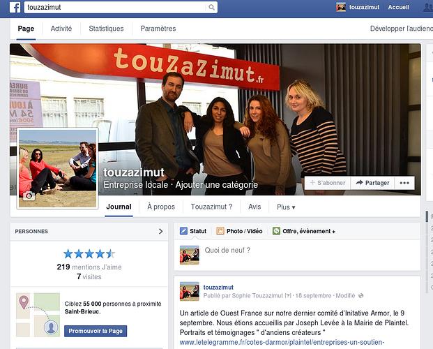Facebook : monte en exigence et pertinence 0
