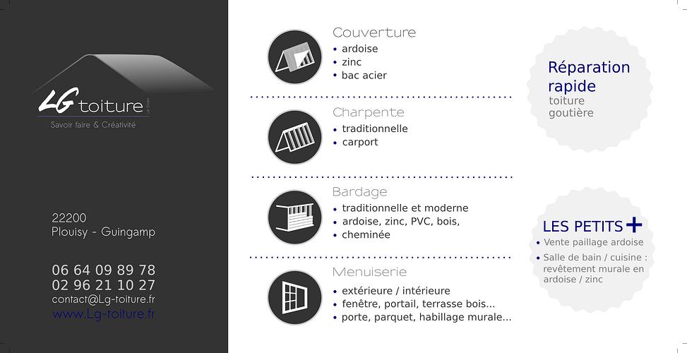 LG Toiture, un couvreur expérimenté - secteur Guingamp 105x210vers