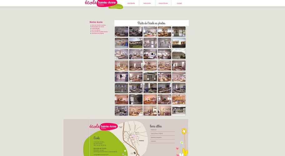Ecole Ste-Anne - Pordic : le nouveau site est en ligne ste3