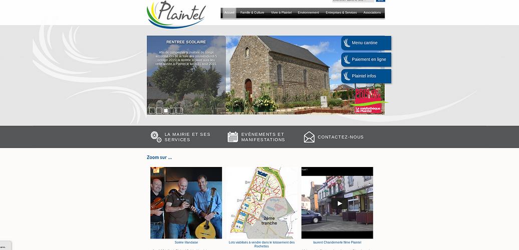 Sites de Mairies et collectivités, en Côtes d''Armor plaintel