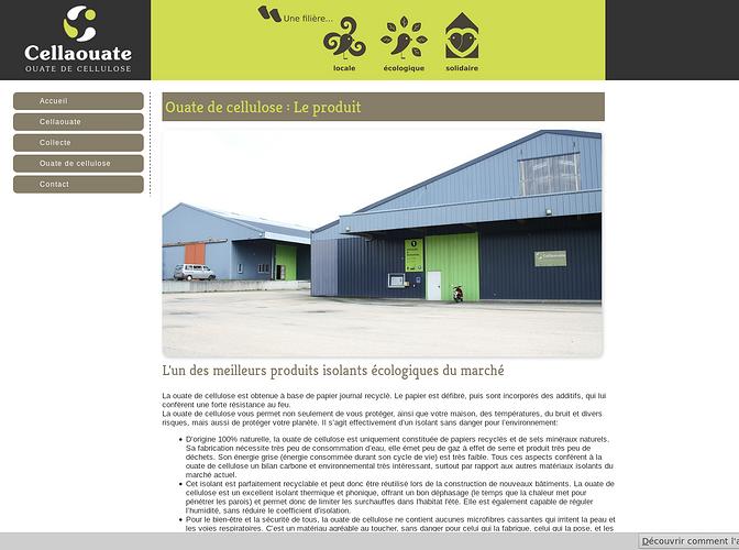 Cellaouate : locale, écologique et solidaire cell2