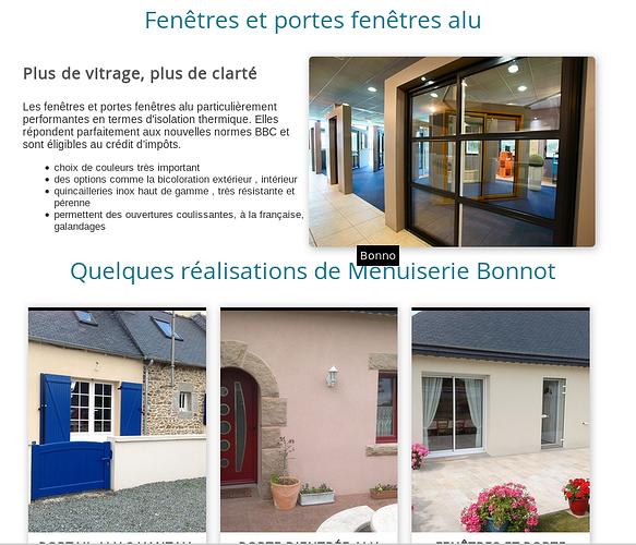 Menuiserie Bonnot - Bégard mb3