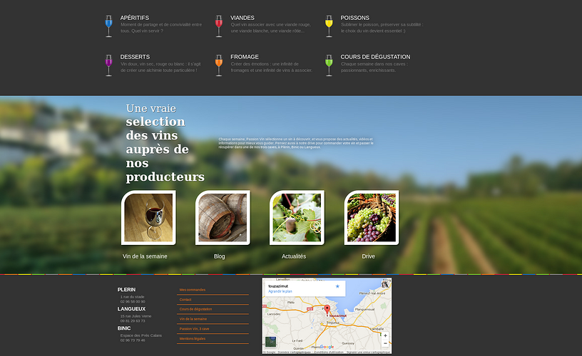 Passion Vin - 3 caves : Plérin, Binic, Langueux p2