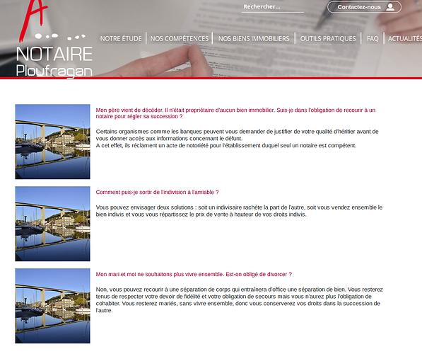 Notaire Ploufragan: un site internet pour mieux informer not4