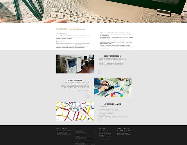 Copy Création: conception et création des supports copy2