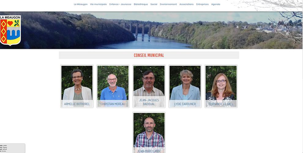 Site Internet de La Méaugon (22) lm3