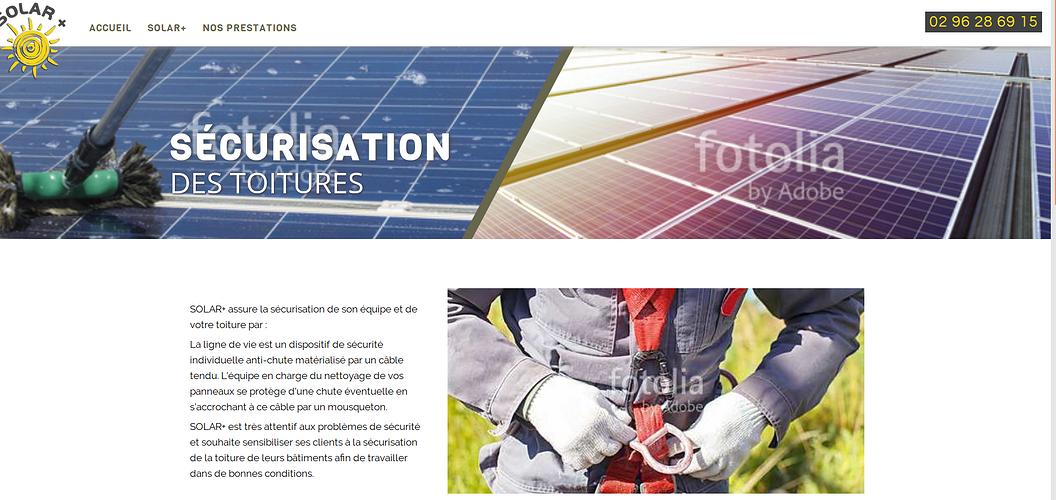 Solar +: Nettoyage panneaux photovoltaïques sur le Grand Ouest sol4