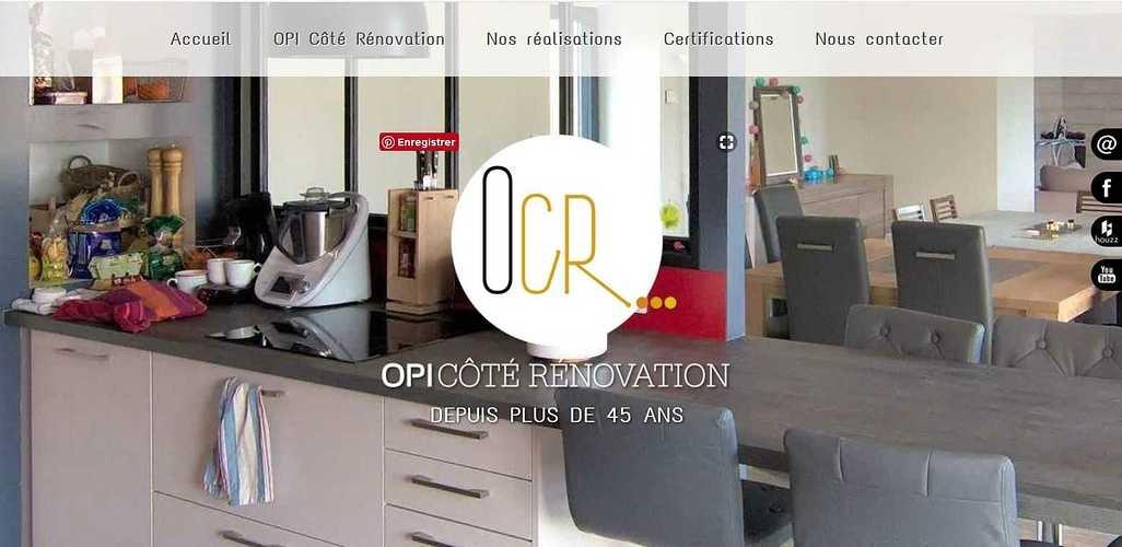 Création Site de OPI Côté Rénovation - Cavan - Côtes d''Armor (Bretagne) opi1
