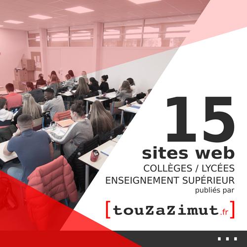 Sites Internet des écoles / collèges / lycées / enseignement supérieur / formations  0