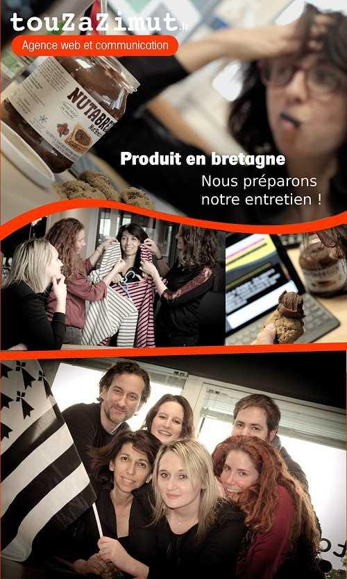 Touzazimut prépare son entretien pour postuler au Réseau Produit en Bretagne montage