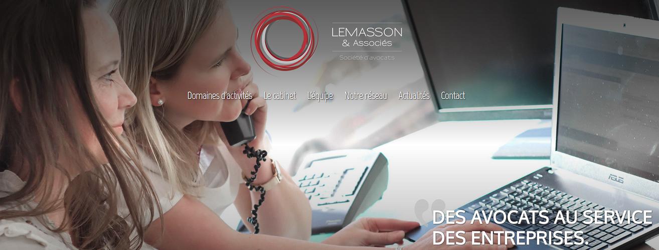Refonte du site : Cabinet Lemasson et associés 0