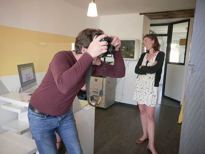 Reportage chez Lamballe Immobilier 0