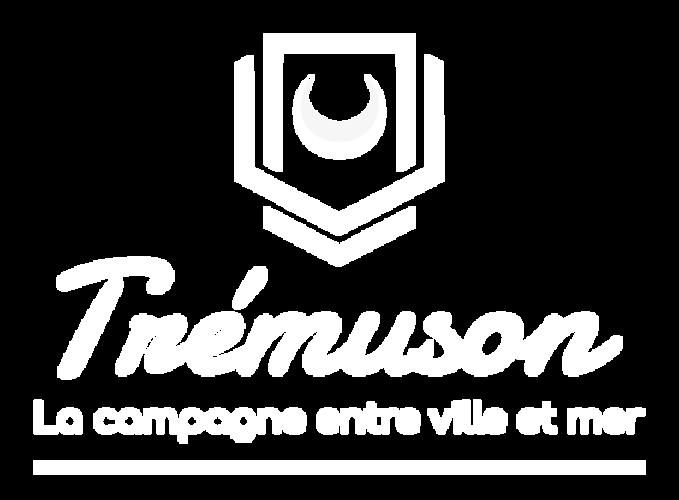 Mairie de Trémuson : site internet, refonte du logo et vidéo vœux 2021 logoblanchd
