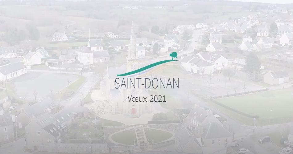 Vidéo des voeux du maire de Saint-Donan 0