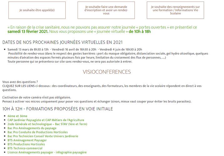 Journée Portes-ouverte virtuelle Lycée Saint-Ilan sti3