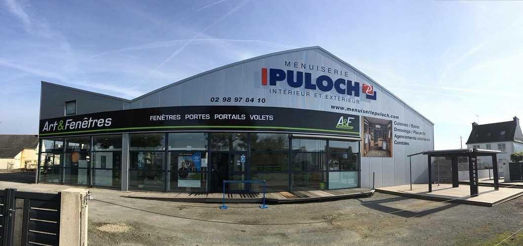 Site Internet Menuiserie Puloch - Concarneau 0