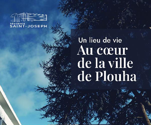 Pochette / plaquette Ephad - Plouha 0